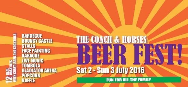 Beer fest banner