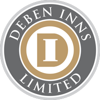 Deben Inns Mailing List Retina Logo
